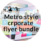 Metro Style & Multipurpose Corporate Flyer - GraphicRiver Item for Sale