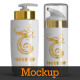 12 Airless Cosmetic Bottle & Box Mockups - GraphicRiver Item for Sale