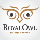 Royal Owl Logo - GraphicRiver Item for Sale
