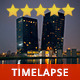 Modern City by Night - VideoHive Item for Sale