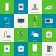 Household Appliances Flat Icons - GraphicRiver Item for Sale