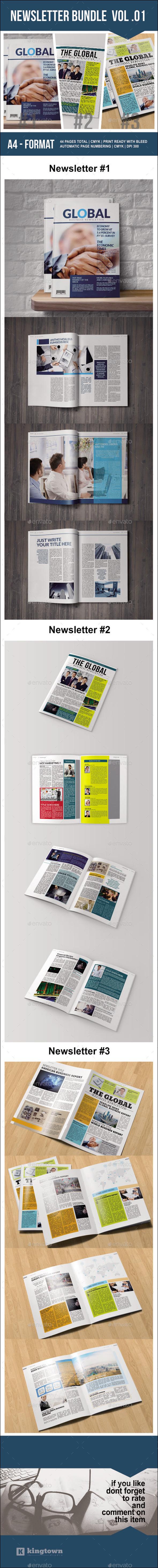 GraphicRiver Newsletter Bundle Vol 01 9819634