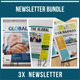 Newsletter Bundle Vol. 01 - GraphicRiver Item for Sale