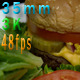 Juicy Cheeseburger And Salad Meal - VideoHive Item for Sale