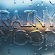 Raindrops Logo Reveal - VideoHive Item for Sale