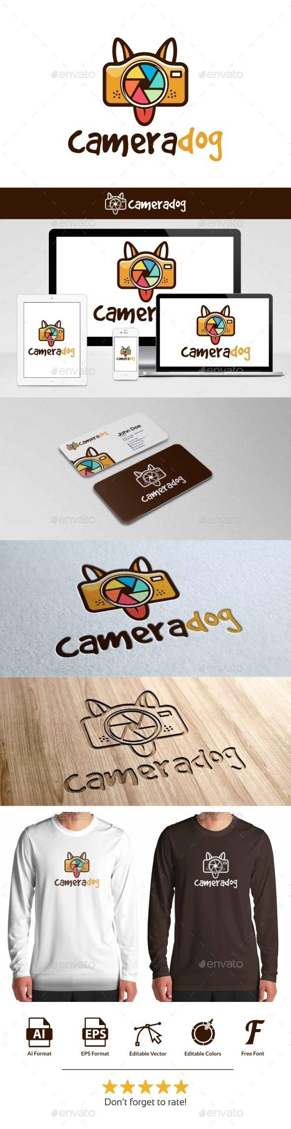 Camera Dog Logo