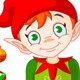 Christmas Elf with Gifts - GraphicRiver Item for Sale