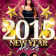 New Year After Party Flyer Template - GraphicRiver Item for Sale