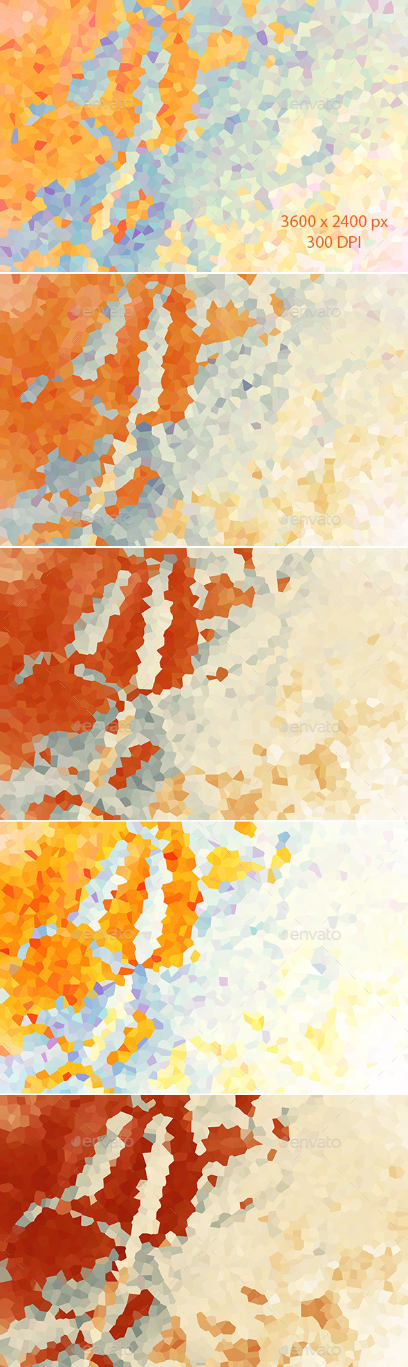 Colorful Abstract Polygon Backgrounds
