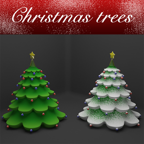 3DOcean Christmas tree 9820892