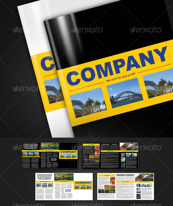 GraphicRiver 6-page brochure A4 124771