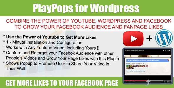 Use the power of YouTube, Wordpress and Facebook to grow your audience really fast. Capture, re-target and sell to your always growing audience and fans. This p