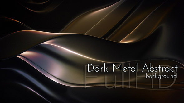 Abstract Techno Dark Metal