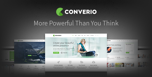 Converio Responsive Multi-Purpose WordPress Theme