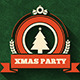 Very Vintage Xmas Party Flyer and Cover - GraphicRiver Item for Sale