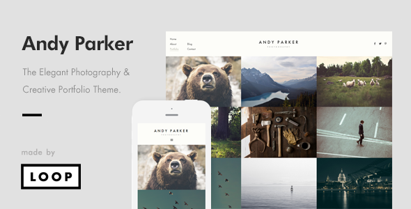 ThemeForest Creative Photography & Portfolio WordPress Theme 9584600