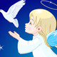Angel with Dove - GraphicRiver Item for Sale
