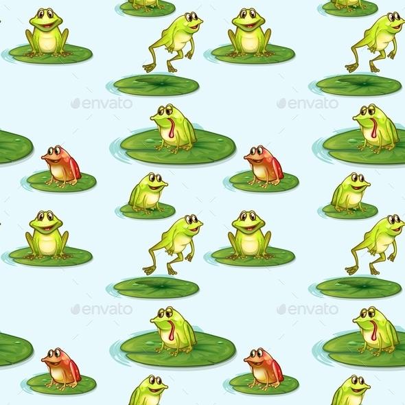 GraphicRiver Frog Pond 9822465