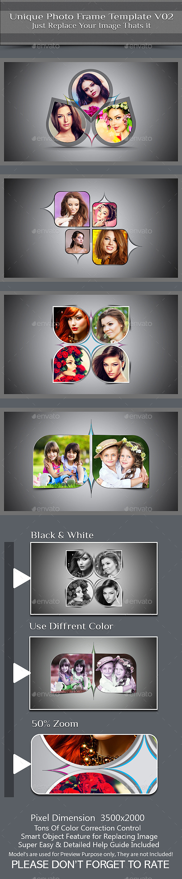 GraphicRiver Unique Photo Frame Template V02 9822476