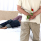 Man Offering A Rose To His Wife  - VideoHive Item for Sale