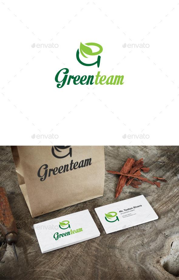 GraphicRiver Greenteam Logo 9716916
