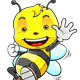 Honey Bee Character - GraphicRiver Item for Sale