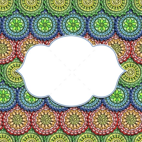 GraphicRiver Floral Frame 9823644
