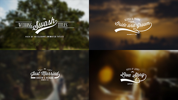 Wedding Video Title Templates Free Download