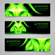 Goat Fire Banners - GraphicRiver Item for Sale