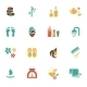 Beauty and Spa Icons - GraphicRiver Item for Sale