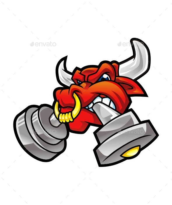 angry bull head logo - photo #12