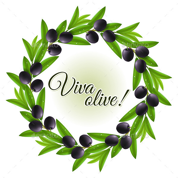 GraphicRiver Olive Wreath 9824883