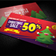Creative Christmas Gift Voucher 01 - GraphicRiver Item for Sale