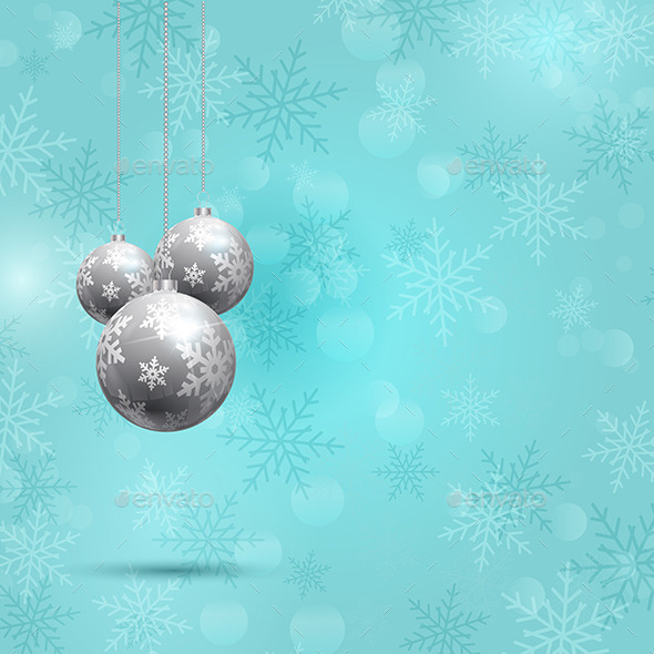 GraphicRiver Christmas Baubles 9825053