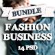 Fashion Business Bundle - GraphicRiver Item for Sale