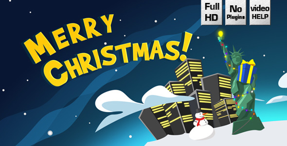 Cartoon World Christmas