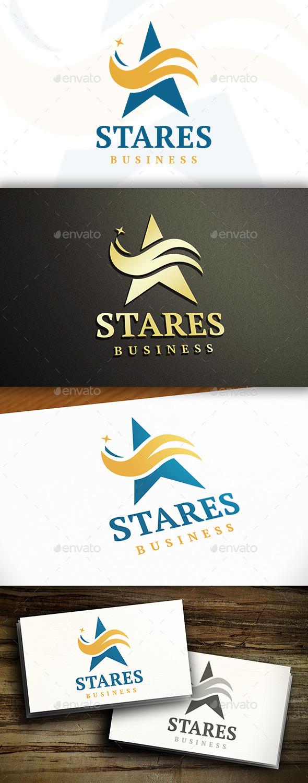 GraphicRiver Star Business Logo 9825459