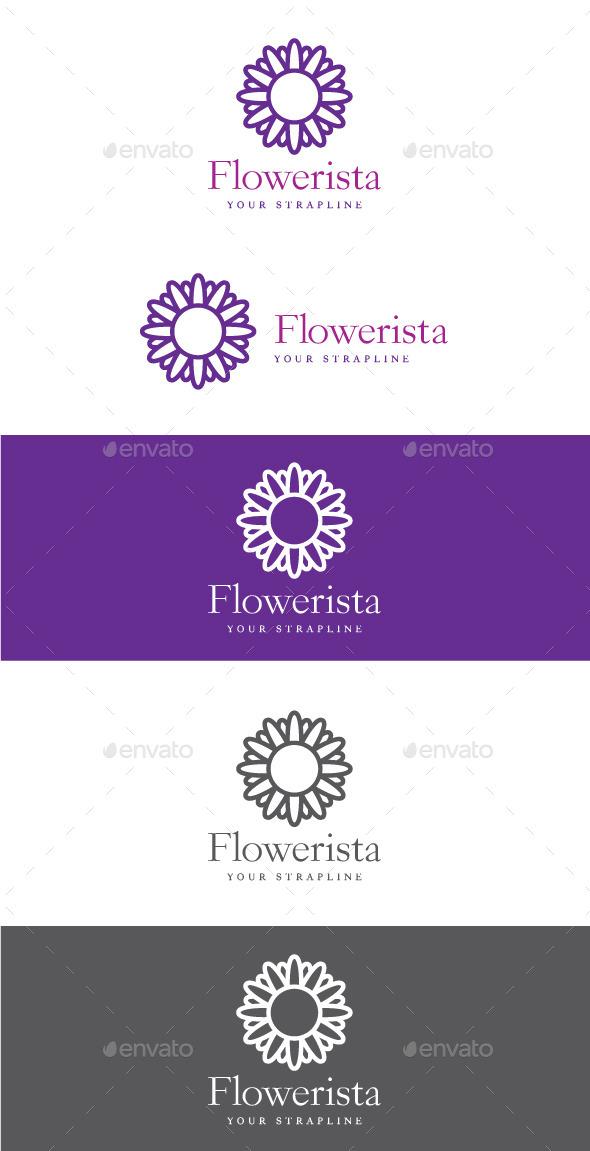 GraphicRiver Flowerista Logo 9825726