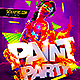 Paint Party Flyer / Glow In the Dark - GraphicRiver Item for Sale