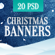 Christmas Banner Set - GraphicRiver Item for Sale