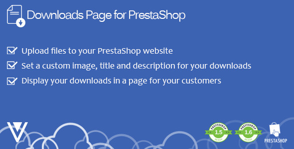 CodeCanyon Downloads Page for PrestaShop 9826240