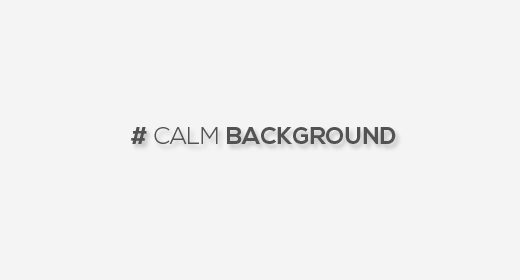calm background pieces