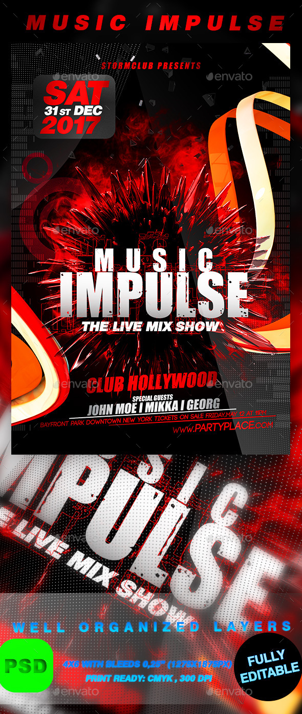 GraphicRiver Music Impulse 9826750