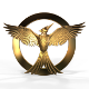 Mockingjay Bird 2 (Single Mesh 3D Model)
