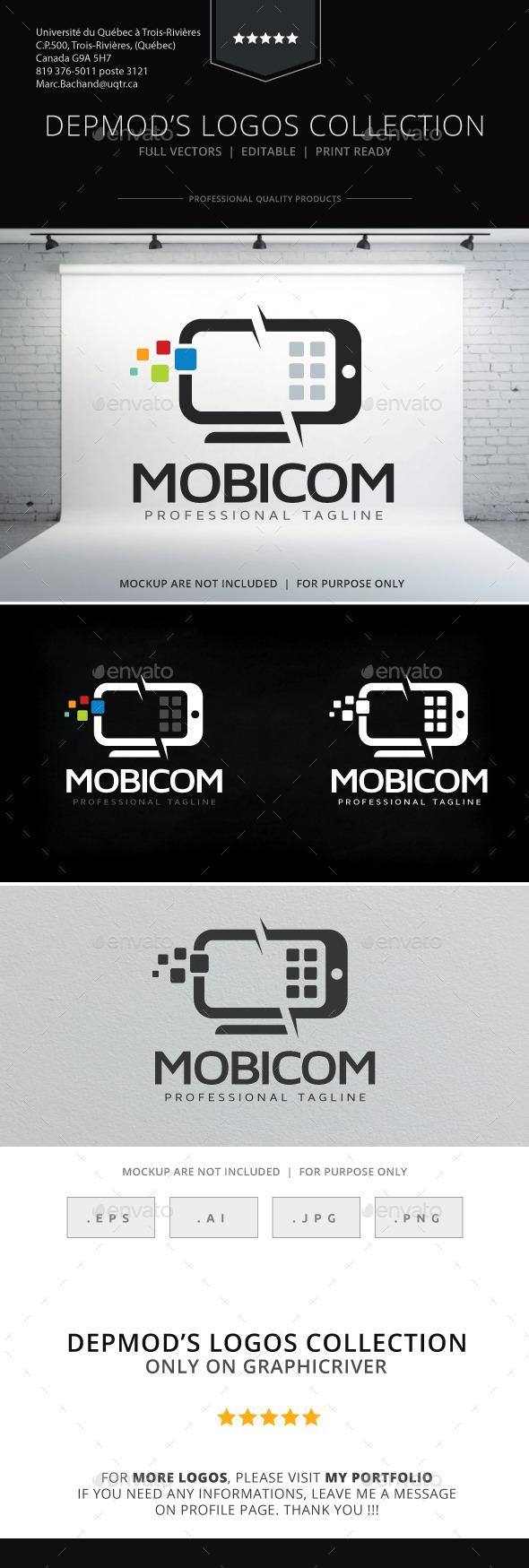 GraphicRiver Mobicom Logo 9827126