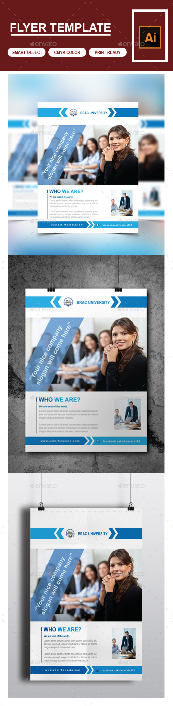 GraphicRiver Corporate Business Flyer 9827253