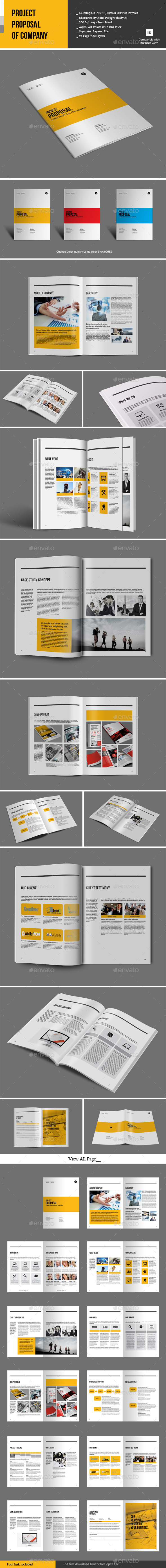 GraphicRiver Project Proposal of Company 9827510