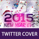 New Year Twitter Cover - GraphicRiver Item for Sale