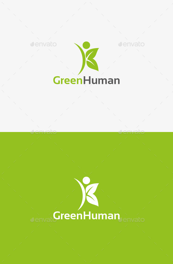 GraphicRiver Green Human 9827979