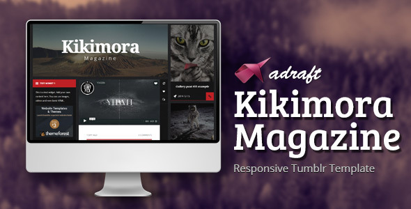 ThemeForest Kikimora Magazine 9827987